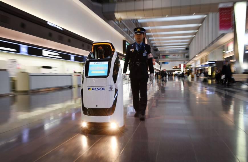 应对劳动力不足 日本羽田机场将派机器人上岗