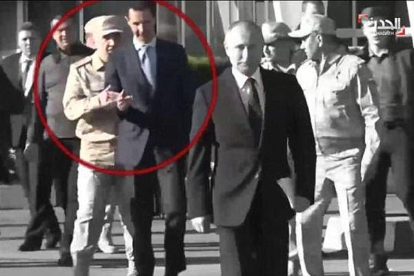 叙利亚总统欲紧随普京上台被俄士兵拦住
