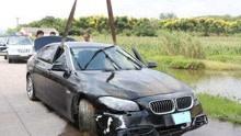 载6人车辆坠塘5人遇难 给车挂红鞭炮还未放完