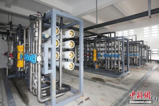 中国将在100个左右海岛推进海水淡化工程