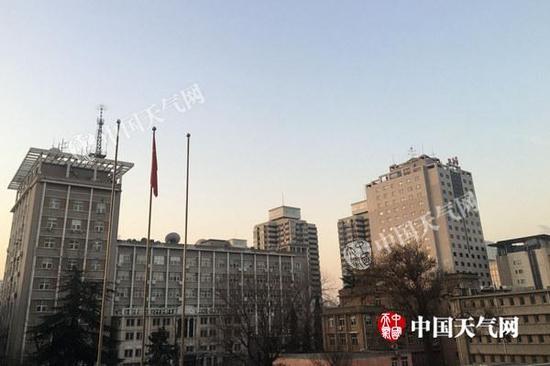 北京气温持续走低 今日最高气温仅0℃
