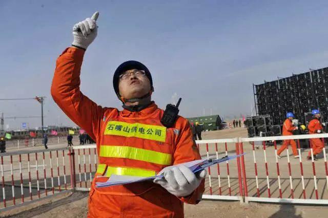 宁夏举行北部电网联合应急实战演练 首次用喷火无人机清异物(多图)