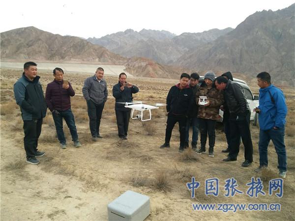 无人机航拍巡查代替人工徒步巡山