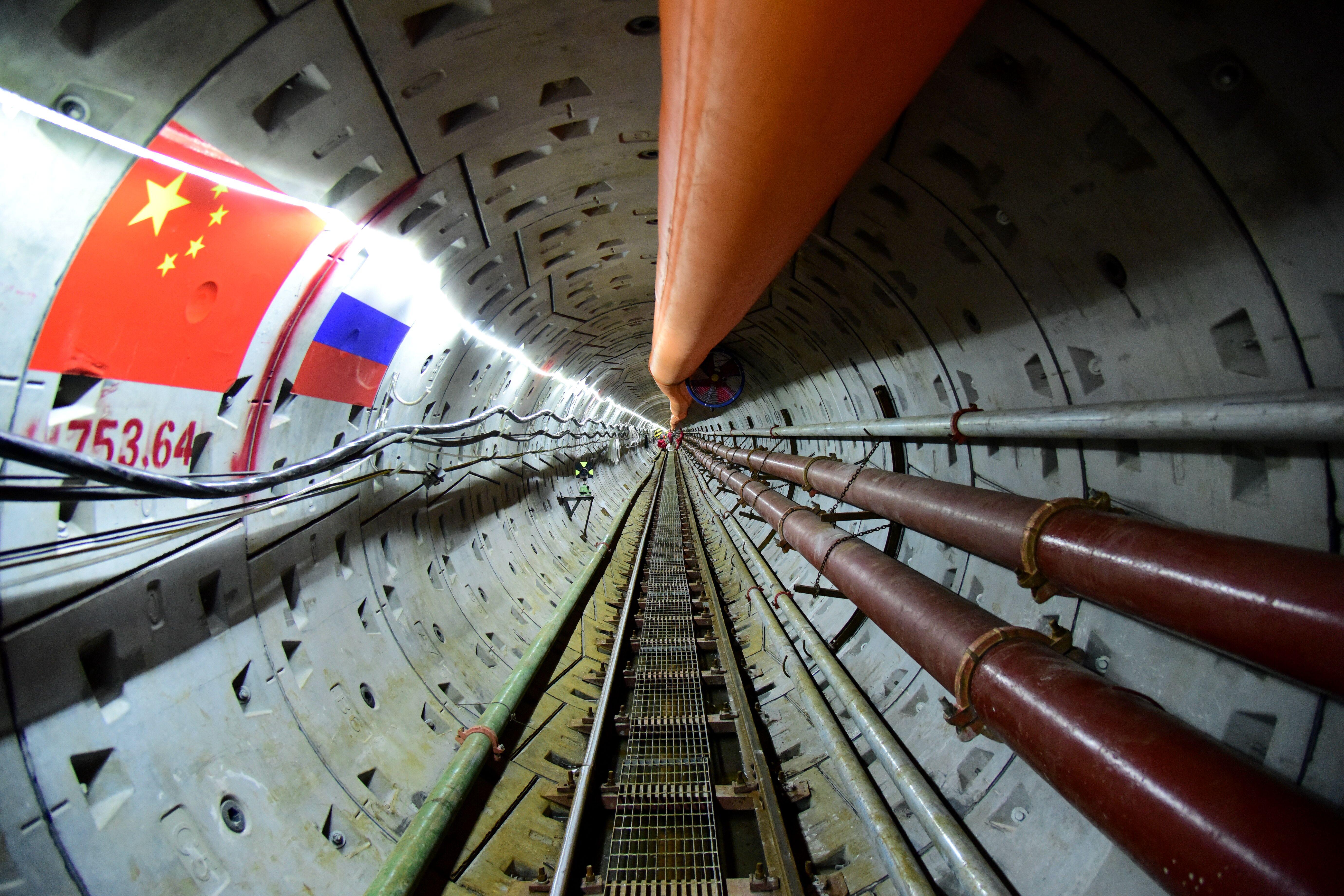 中俄东线天然气管道工程全面加速建设