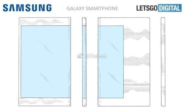 全新折叠手机形态 三星打造环绕屏折叠手机