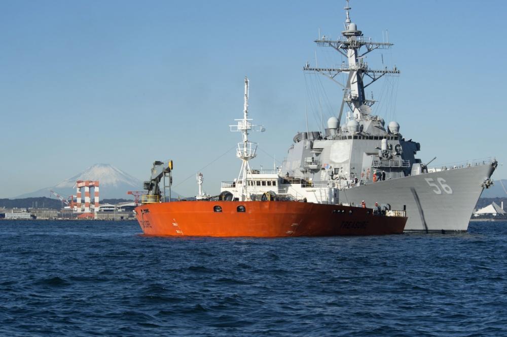 美麦凯恩号驱逐舰将在日本维修 将花2亿多美元