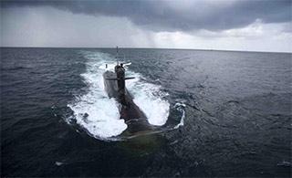 印度国产常规潜艇首艇服役