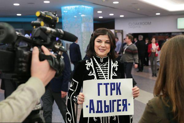 普京年度记者会即将召开 媒体工作者进行最后准备