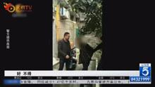 壮汉偷车自家楼下被抓直求饶:把我手盖着 我怕邻居看到……
