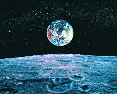 """月球南极最适合建科研站 机器人将""""值守""""月球"""