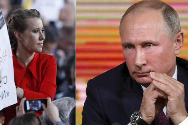 普京年度记者会 竞选对手向其提问