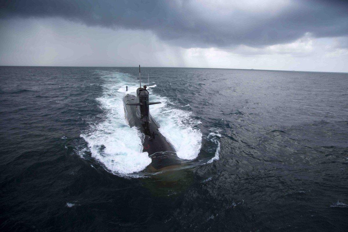 印度苦等17年迎来新潜艇 承认主要目标是中国