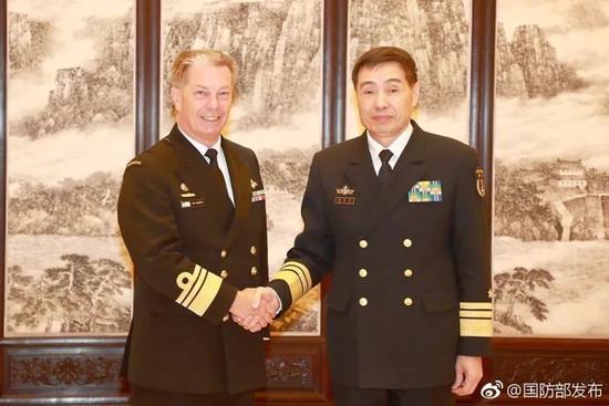 澳海军司令访华 中方学者追问澳南海行动意图
