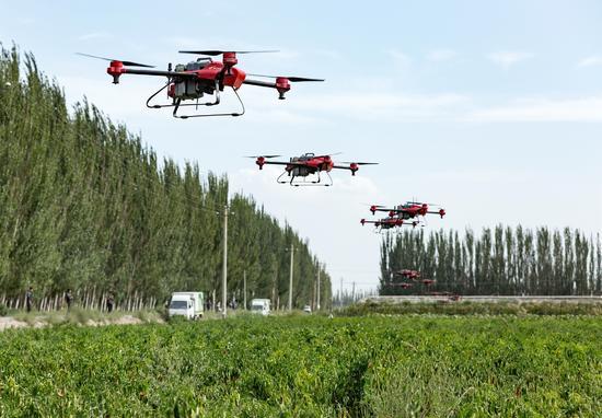 安徽26县试点植保无人机补贴 标准16000元