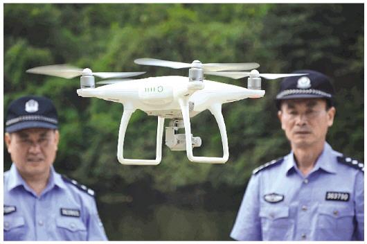 西宁市城中警方组建无人机专业队伍
