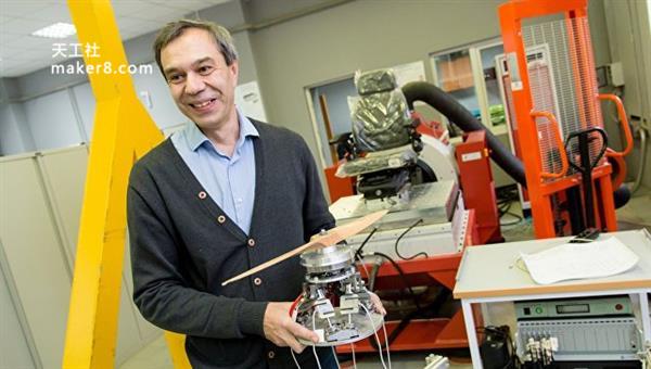 俄3D打印电机用于无人机