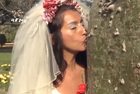 """秘鲁新娘与大树""""结婚"""""""