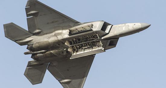 美国空军F-22战斗机(来源:俄罗斯卫星通讯社)