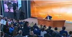 普京举行2017年度记者会:将以独立候选人身份参选