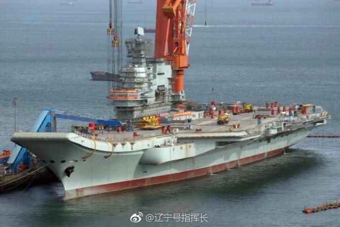 港媒:中国新航母能搭载35架歼15 比辽宁舰先进