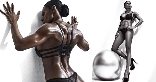 新加坡50岁大妈健身塑造完美身材 与女儿同框若姐妹