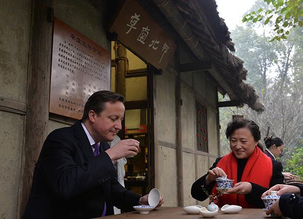 """英国前首相卡梅伦""""下岗再就业"""",将参与中英双边投资基金"""