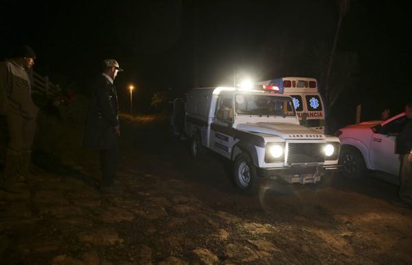 洪都拉斯一架军用直升机坠毁,包括总统姐姐在内6人遇难