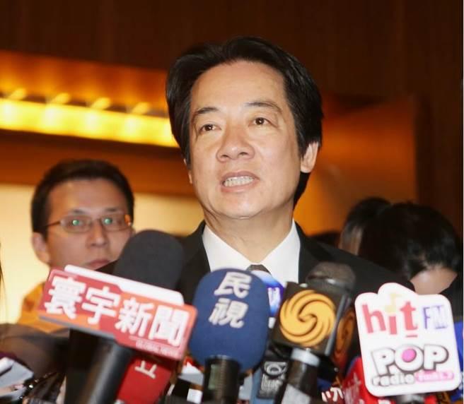 """2018年新北市长选战 赖清德成为国民党""""假想敌"""""""