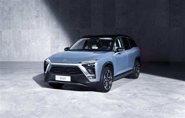 搭配全新人车交互 国产最强7座电动SUV蔚来ES8
