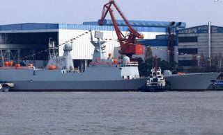 中国海军第29艘054A护卫舰下水