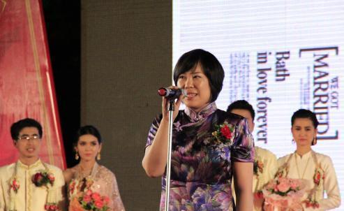 泰国中国企业总商会罗勇商会举行迎新团拜晚会