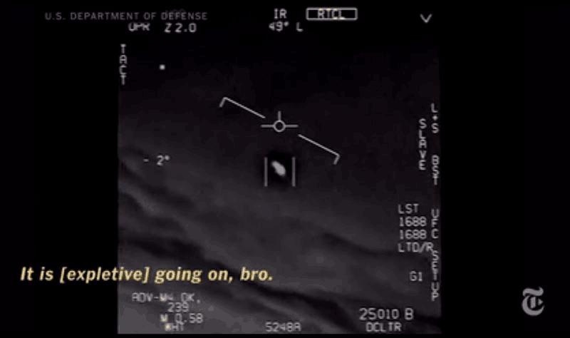 美国防被曝秘密调查UFO事件 年拨款2200万美元