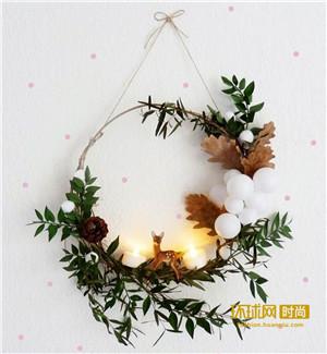 圣诞将至!如何DIY圣诞树制造浪漫气氛?