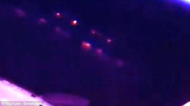 国际太空站外发现神秘光束 疑由外星母舰发出