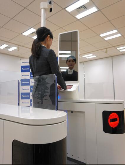 """日本机场将普及使用""""人脸识别"""" 办理出入境手续"""