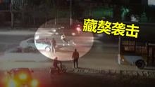 女子被藏獒袭击 司机全力相助