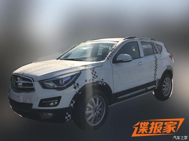 车身尺寸或增加 曝全新海马S5骡车谍照
