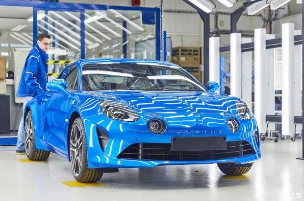 重回品牌故乡 Alpine A110跑车正式投产