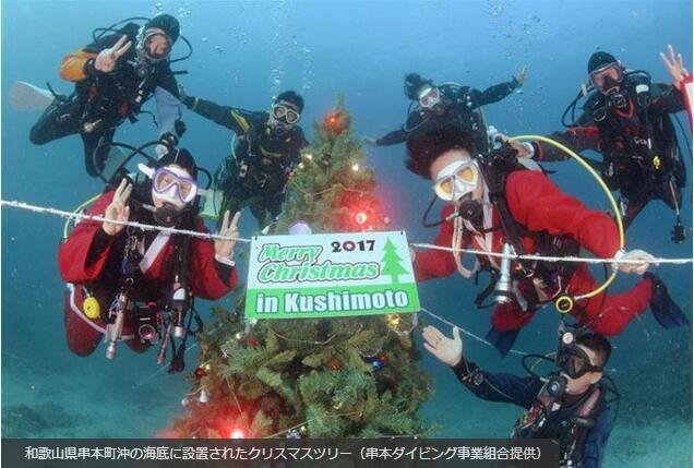 圣诞节去哪过?和吴京一样,水下过圣诞!