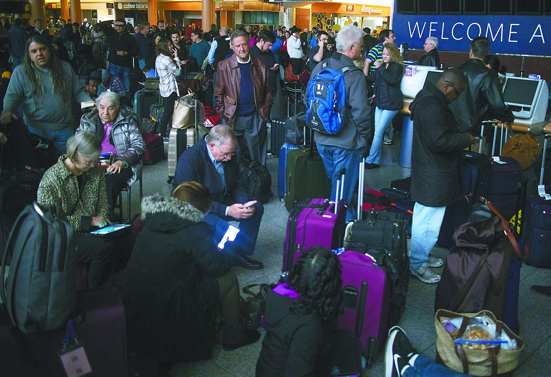 亚特兰大机场突然断电数小时 民众抱怨应急系统差
