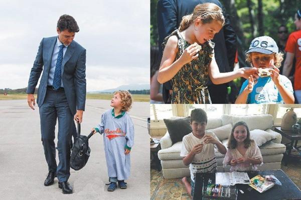 加拿大总理特鲁多发布节日贺卡 家庭照温馨十足