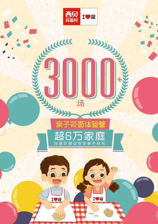 一年6万家庭参加西贝莜面村亲子活动