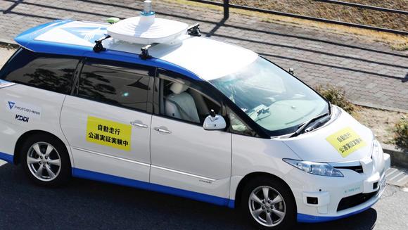 中日自动驾驶竞争激烈 日本已落后一个身位