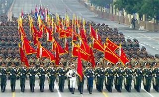 哪个国家阅兵步伐最帅?答案显而易见