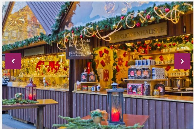 法媒盘点欧洲最美圣诞集市摊位装饰各具特色