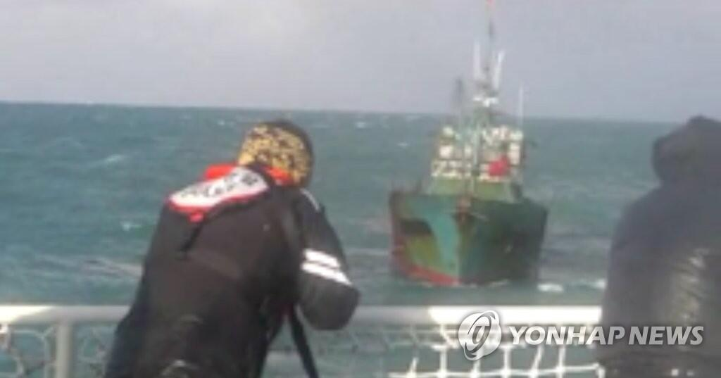 """快讯!韩媒:韩国海警向中国""""越界""""渔船开枪,射击200发子弹!"""