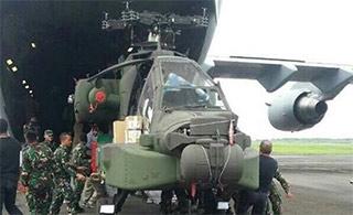 连印尼都有了!印尼接受首架AH64E