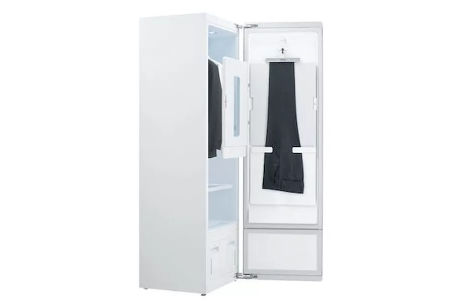 LG发布家庭用蒸汽清洁衣柜 可储存多达6件衣服