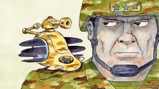 美国正开展杀戮机器人研究,将实现无人机群协同作战