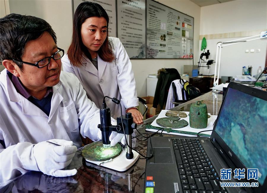 河北宣化将修复200余件春秋战国至明代的金属器文物